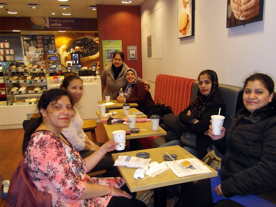 The Parents' Group went out for a coffee morning to Whitton.